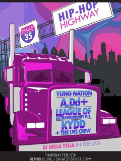 poster for Red Bull Sound Select on Feb 13 2014 with Yung Nation and A.Dd+