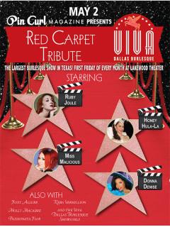 Viva Dallas Burlesque presents Red Carpet Tribute