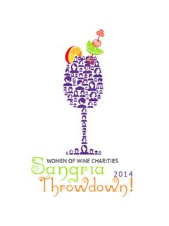 Women of Wine Charities' Third Annual Sangria Throwdown