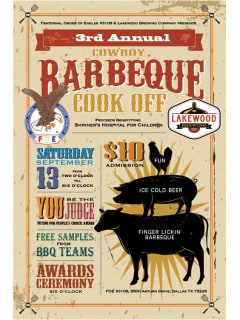 Fraternal Order of Eagles presents Cowboy Barbecue Cook-Off