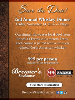 Second Annual Whiskey Dinner