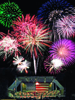 Old-Fashioned Family Fireworks Picnic