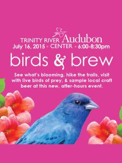 Trinity River Audubon Center Presents Birds & Brews