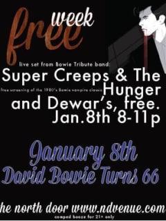 Austin Photo Set: Events_ BowieBday_ND_Jan2013