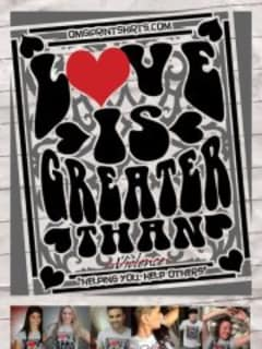 """Art opening reception: """"Love is Greater Than Violence"""""""