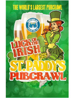 Saint Paddy's Pubcrawl Houston