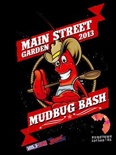 Mudbug Bash, Main Street Garden