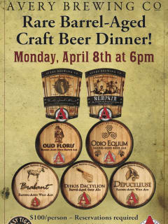 Austin photo: Events_avery craft beer dinner_easy tiger_mar 2013_flyer