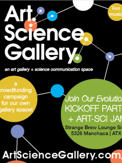 Austin photo: Events_ryan_art science gallery_gallery benefit_mar 2013_flyer