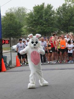 Austin photo: Events_ryan_ash dash_5k bunny run_mar 2013_easter bunny