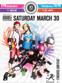 Austin photo: Events_ryan_texas rollergirls_bout 2_season 2013_easter_mar 2013_promo