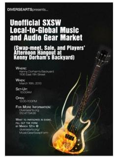 Austin Photo Set: Events_Music Market_Kennys_Mar 2013