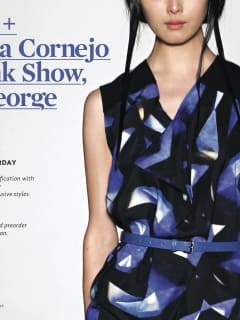 Zero + Maria Cornejo fall fashion will be on display at By George