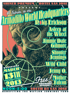 Austin Photo Set: events_Armadillo World HQ Tribute_Hotel San Jose_March 2013