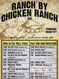Austin Photo Set: events_Ranch by Chicken Ranch_Hole in the Wall_March 2013
