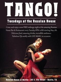 Tango Tuesdays at Russian House