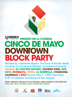 La Condesa Cinco de Mayo block party 2013
