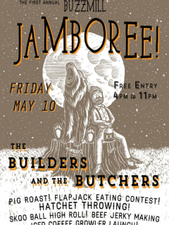 Poster for Buzz Mill Jamboree May 2013