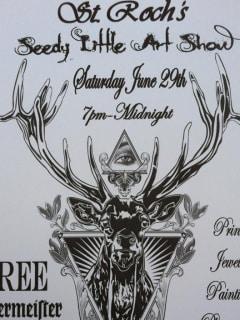 St. Roch's Seedy Little Art Show with Paul Tardie