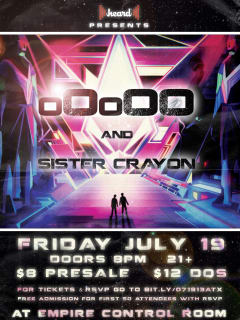 Empire control Room show poster oOoOO and Sister Crayon