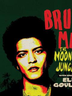 Bruno Mars Moonshine Jungle world tour poster