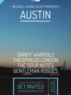 Red Bull Sound Select at Stubb's poster