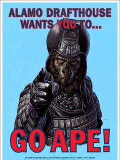 Mondo Go Ape! poster for Planet of the Apes