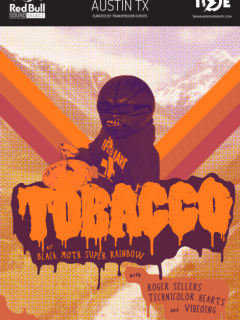 Red Bull Sound Select Presents Tobacco poster