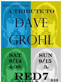 School of Rock tribute to Dave Grohl