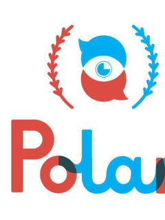 Logo for Polari LGBT film festival