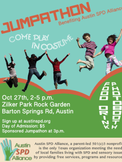 poster for Austin SPD Alliance jumpathon