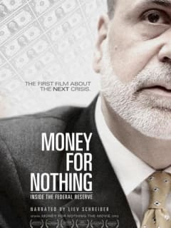 poster for documentary Money for Nothing by Jim Bruce