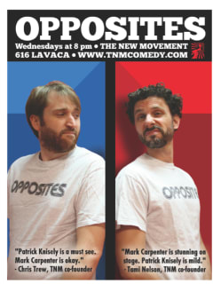 Opposites improv comedy at the New Movement
