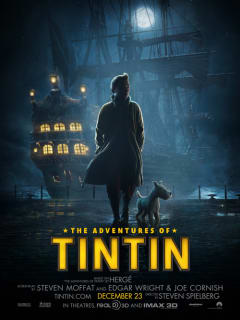 poster for the Adventures of Tintin