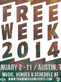 flyer for Transmission Events Free Week 2014