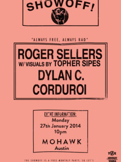 Poster for The Showoff with Roger Sellers at Mohawk