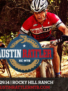flyer for the Austin Rattler MTB