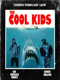 poster for The Cool Kids at Hotel Vegas