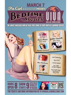 Viva Dallas Burlesque presents Bedtime Stories