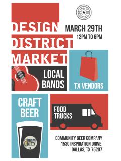Design District Market March 2014
