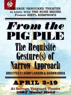 poster for Salvage Vanguard show From the Pig Pile