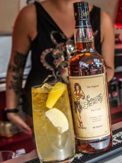 Sailor Jerry rum and cocktail