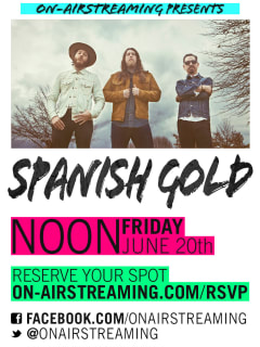 poster for Spanish Gold show for On-Airstreaming
