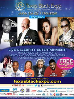 "Texas Black Expo Juneteenth Summer Celebration, Tradeshow & Exposition ""Health People. Healthy Communities"""