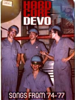 poster for Devo at ACL Live playing Hardcore