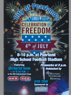 Pearland's Celebration of Freedom 2014