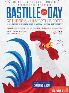 poster for Bastille Day at French Legation 2014