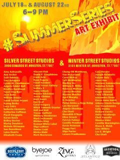 """#SummerSeries"" Art Exhibit at Silver Street Studios and Winter Street Studios"