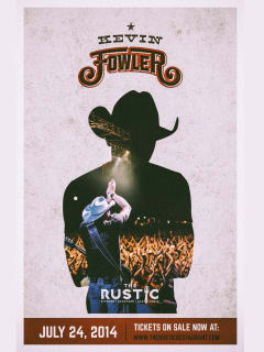 Kevin Fowler at The Rustic