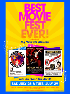 The Best Movie Fest Ever presents My Favorite Musicals